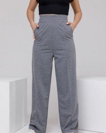 ISSA PLUS: Спортивные штаны 12312A_серый - фото 1