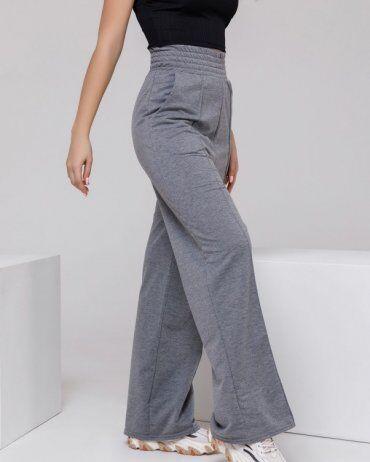 ISSA PLUS: Спортивные штаны 12312A_серый - фото 2