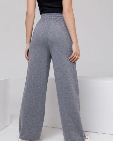 ISSA PLUS: Спортивные штаны 12312A_серый - фото 3