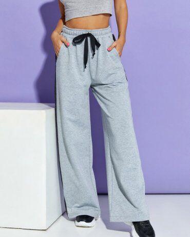 ISSA PLUS: Спортивные штаны 12910_светло-серый - фото 1