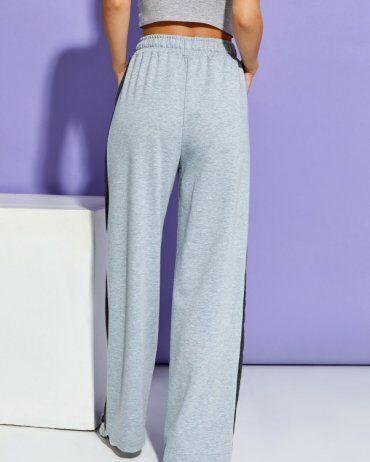 ISSA PLUS: Спортивные штаны 12910_светло-серый - фото 3