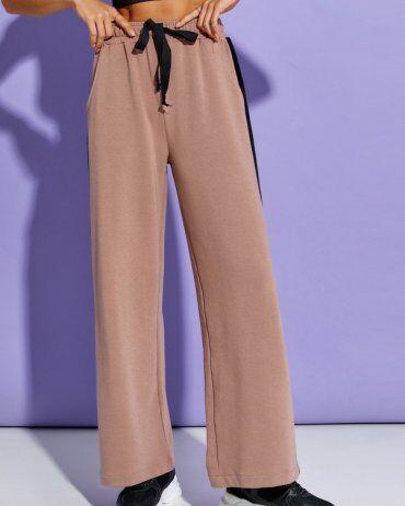 ISSA PLUS: Спортивные штаны 12910_коричневый - фото 1