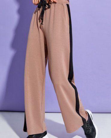 ISSA PLUS: Спортивные штаны 12910_коричневый - фото 2