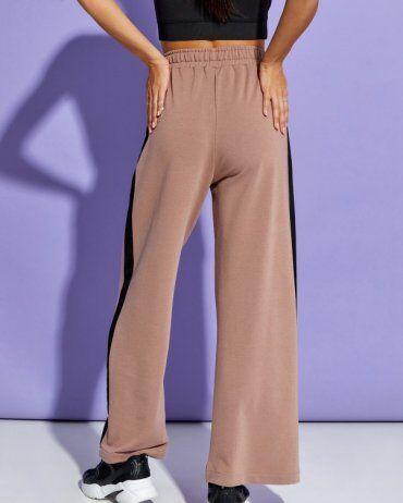 ISSA PLUS: Спортивные штаны 12910_коричневый - фото 3