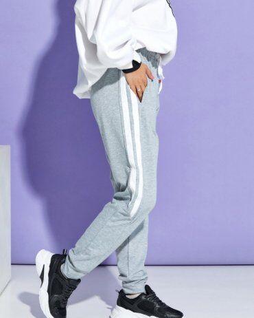 ISSA PLUS: Спортивные штаны 12911_серый - фото 3