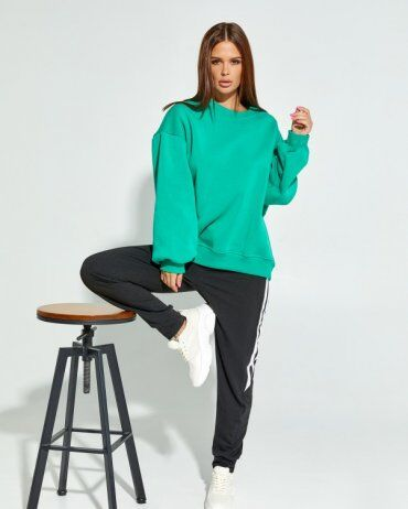 ISSA PLUS: Спортивные штаны 12911_черный - фото 1