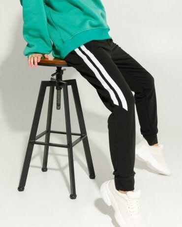 ISSA PLUS: Спортивные штаны 12911_черный - фото 3