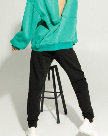 ISSA PLUS: Спортивные штаны 12911_черный - фото 4