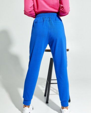 ISSA PLUS: Спортивные штаны 12911_синий - фото 3