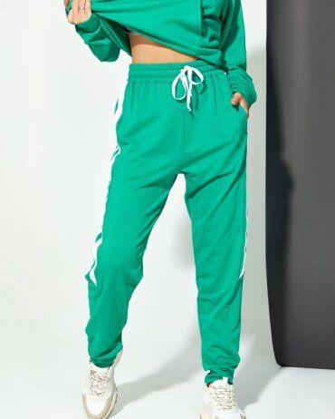 ISSA PLUS: Спортивные штаны 12911_зеленый - фото 1