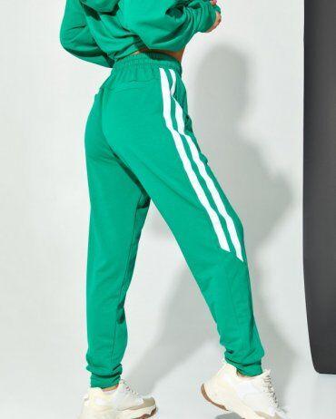ISSA PLUS: Спортивные штаны 12911_зеленый - фото 2