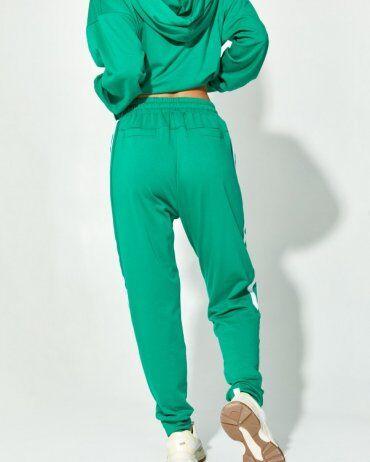 ISSA PLUS: Спортивные штаны 12911_зеленый - фото 3
