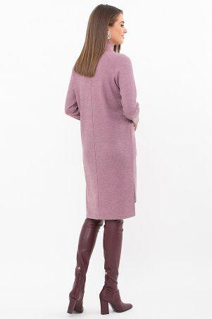 Glem: Платье Лакси д/р т. лиловый p74183 - фото 3