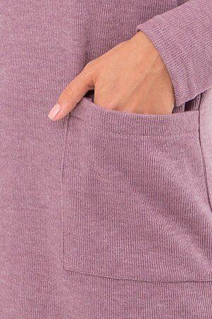 Glem: Платье Лакси д/р т. лиловый p74183 - фото 4