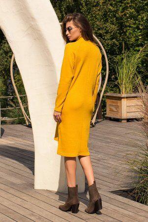 Glem: Платье Лакси д/р горчица p74180 - фото 5