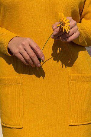 Glem: Платье Лакси д/р горчица p74180 - фото 6