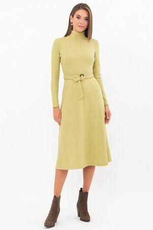 Glem: Платье Инетта д/р оливковый p74172 - фото 1