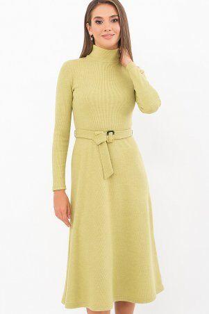 Glem: Платье Инетта д/р оливковый p74172 - фото 2