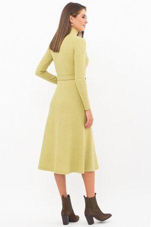 Glem: Платье Инетта д/р оливковый p74172 - фото 3