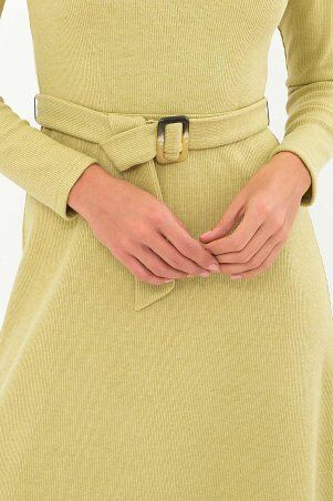 Glem: Платье Инетта д/р оливковый p74172 - фото 4
