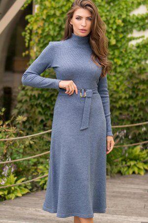 Glem: Платье Инетта д/р джинс p74173 - фото 1