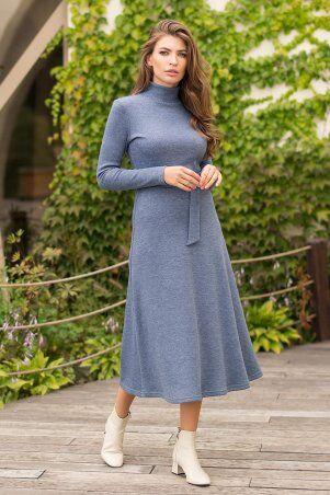 Glem: Платье Инетта д/р джинс p74173 - фото 2