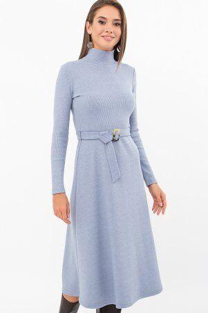Glem: Платье Инетта д/р голубой p74174 - фото 1