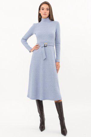 Glem: Платье Инетта д/р голубой p74174 - фото 2