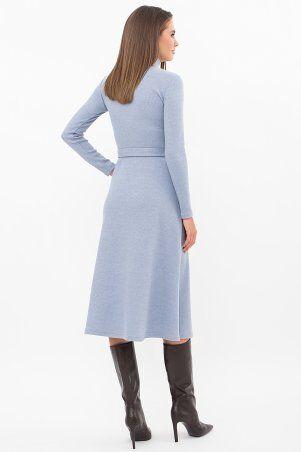 Glem: Платье Инетта д/р голубой p74174 - фото 3