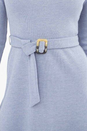 Glem: Платье Инетта д/р голубой p74174 - фото 4