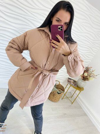 Larionoff: Куртка SIERRA Бежевый 002187 - фото 3