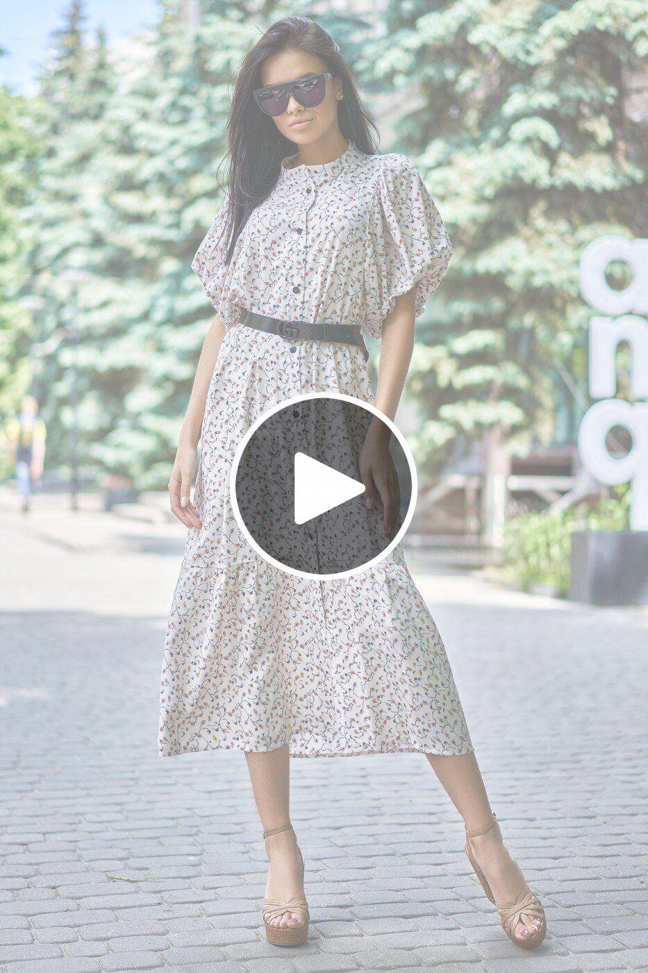 Jadone Fashion: Платье Нотти М4 - перейти к видеообзору товара