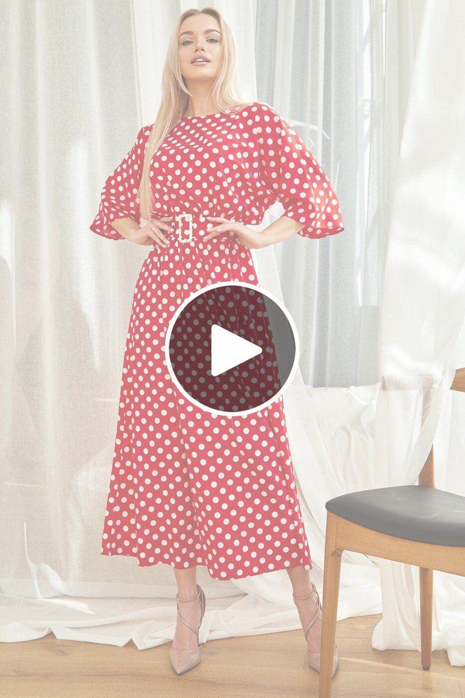 Jadone Fashion: Платье Ролана красный - перейти к видеообзору товара