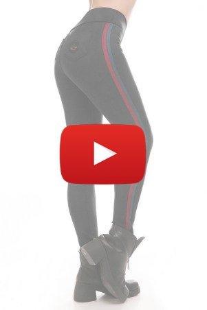 ArtStyleLeggings: Лосины TWO STRIPS LSN-272A - смотреть short video